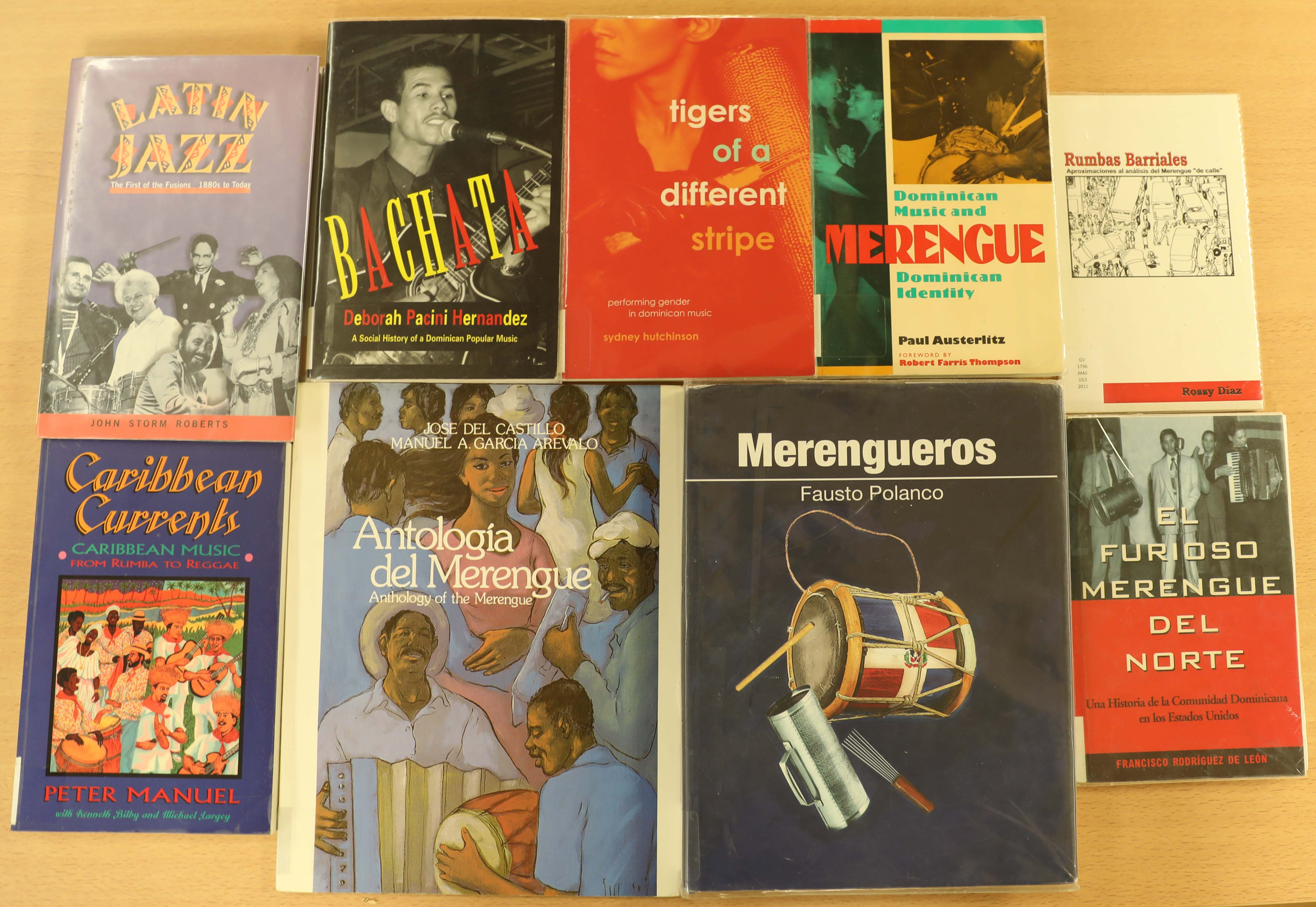 A Collage of Books on Dominican Music