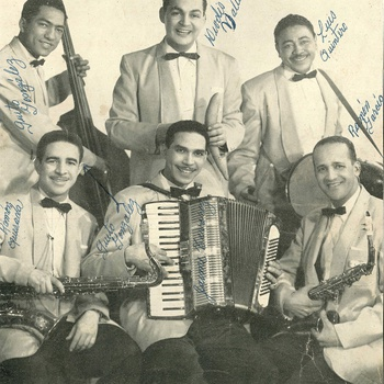 Ramón García y su Conjunto Típico Cibao, Ansonia Records press photo, ca. 1954