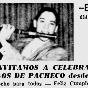 Advertisement for Johnny Pacheco's Birthday Celebration, 1967