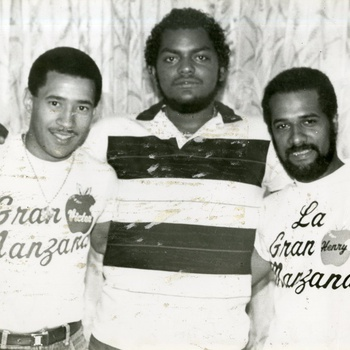 Victor Roque (left) and Henry Hierro (right) of La Gran Manzana, ca. 1980s
