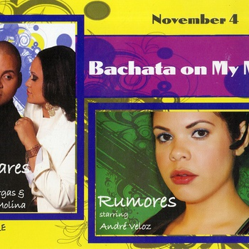 Bachata on My Mind Event Flyer, November 4, 2009