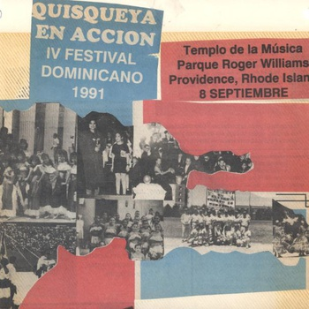 Fourth Annual Dominican Festival Flyer, September 8, 1991
