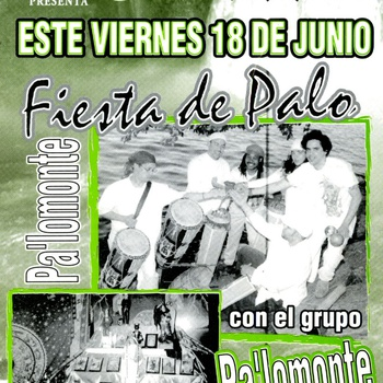 Fiesta de Palo featuring Pa' Lo Monte at Jet Set Cafe, Bronx, NY, June 18, ca. 2000