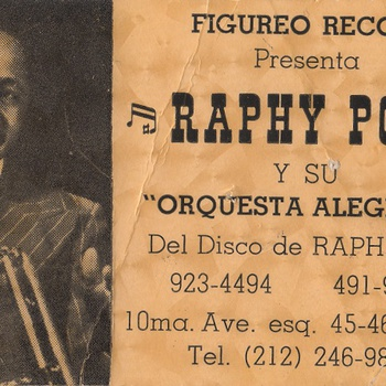 Raphy Pou y Su Orquesta Alegría, Figureo Records, 1982