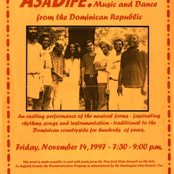 Asa Difé Performance Flyer, 1997