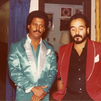 Wilfrido Vargas and Willie Colon, ca. 1980s