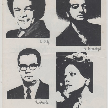 Music of the Dominican Republic Concert Program Page, January 26, 1976