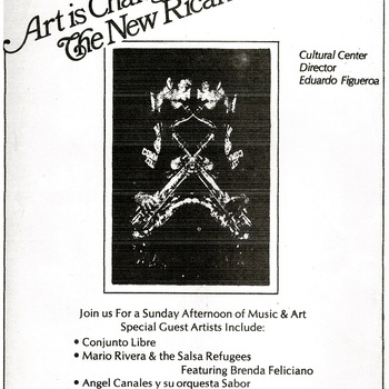 Art is Changing Event Flyer, January 8, 1977